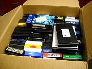 Отдам даром видеокассеты, самовывоз из г.Самара