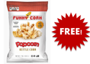 Free Funny Corn Popcorn Sample from Mumbai