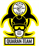 FREE QuaranTEAM Sticker из г.Нью-Йорк