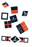 Free Sperry sticker pack from Augusta