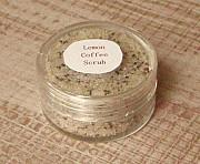 Free Lemon Coffee Body Scrub Sample from Charlottetown