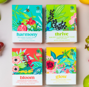 Organic plant-powered tonic sample pack from New York City