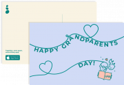 Share the love by sending your grandparents a personalized postcard! from Los Banos