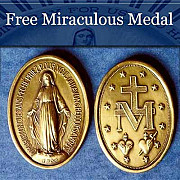 Free Miraculous Medal from Salt Lake City